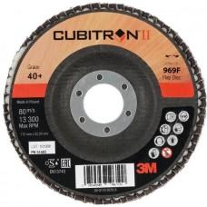 Торцевой конический лепестковый круг 3M Cubitron II 969F