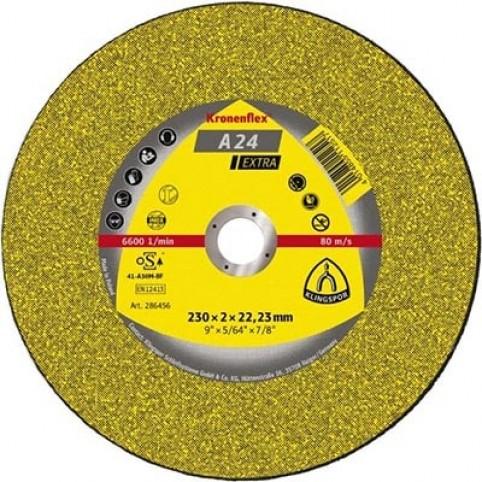 Круг отрезной Klingspor Kronenflex (Клингспор Кроненфлекс) A24 Extra
