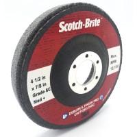 Зачистной круг 3M Scotch-Brite Deburr and Finish Pro, 2S FIN, 8C CRS, 6C MED+