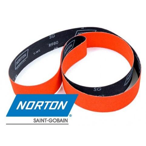 Бесконечная шлифовальная лента Norton R980 NORTIN